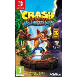 CRASH BANDICOOT N SANE TRILOGY SW