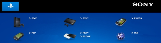 PlayStation Service Pagina