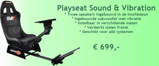 Playseat Sound & Vibration