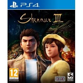 SHEN MUE III PS4