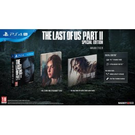 LAST OF US PART II SPECIAL EDITION PS4