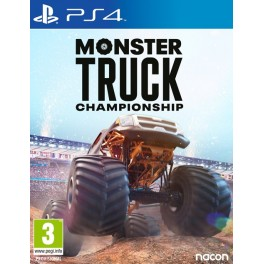 MONSTER TRUCK CHAMPIONSHIP PS4