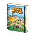 A5 NOTEBOOK 3D ANIMAL CROSSING